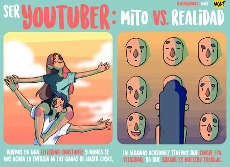 Érase una vez un youtuber pegado a una sonrisa