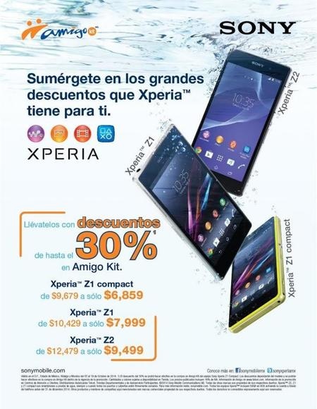 Promoción Xperia - Telcel