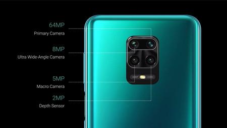 Redmi Note 9 Pro Max Camaras Traseras