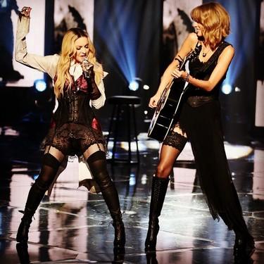 Taylor Swift y Madonna, el dúo que nadie esperaba, y otros momentos de  los iHeartRadio