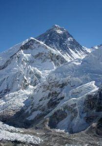 Un Motorola en la cima del Everest