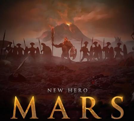 Así nos imaginamos a Mars, el nuevo héroe que llegará muy pronto a Dota 2