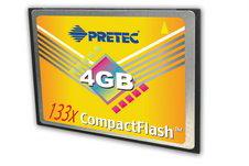 Tarjeta Compacflash PRETEC 133X