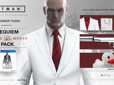 La beta de Hitman primero en PS4 junto con unas cuantas misiones exclusivas