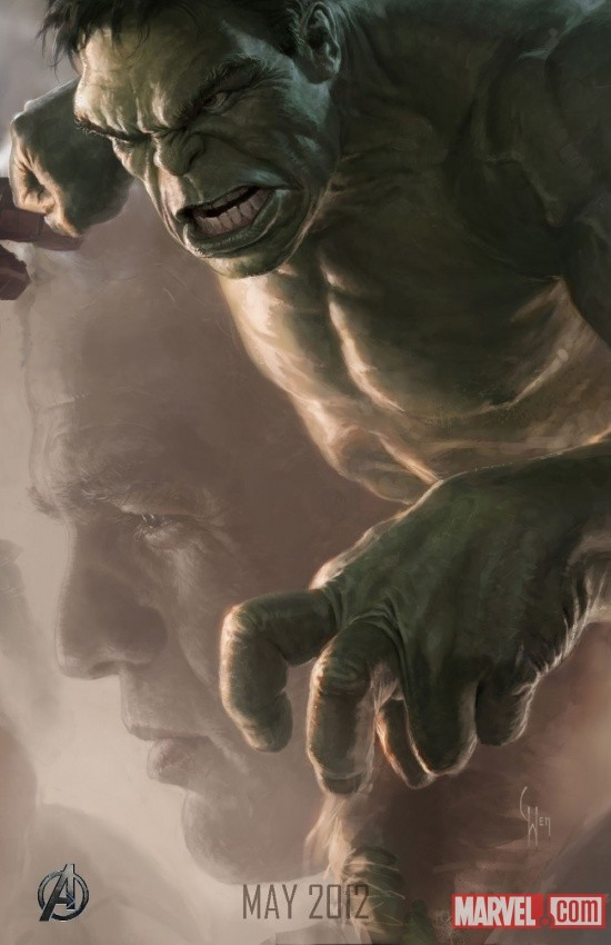 Foto de 'Los Vengadores' ('The Avengers'), teaser póster y dibujos oficiales de los protagonistas (9/9)