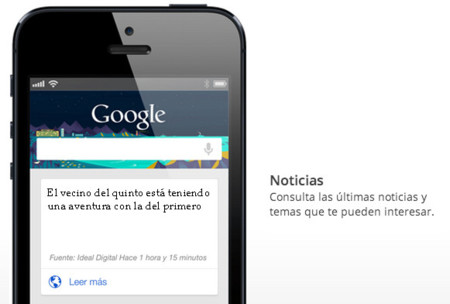 Google Now y las noticias en el vecindario, el siguiente nivel