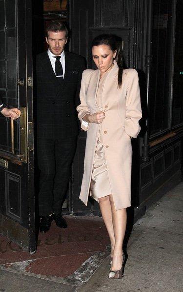 El look de Victoria Beckham en San Valentín