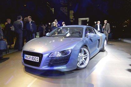 Audi R8 en el Paris Motor Show