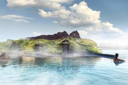 Lago termal Islandia