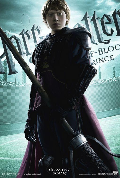 Foto de 'Harry Potter y el misterio del príncipe', nuevos carteles de los protagonistas (4/6)