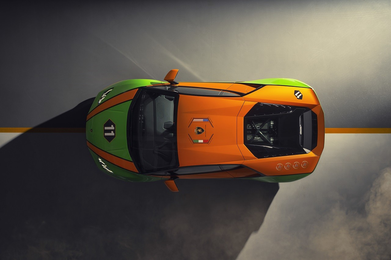 Foto de Lamborghini Aventador SVJ Roadster 63 y Huracán EVO GT (16/34)