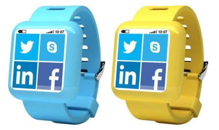 Concepto de Smartwatch Microsoft