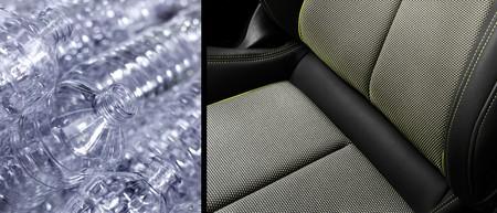 Audi utiliza botellas recicladas de PET para fabricar la tapicería del A3
