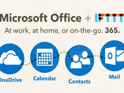 IFTTT ahora es compatible con Office 365
