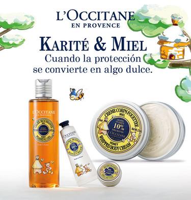Edición limitada de cuidados corporales para mamás y niños de L'Occitane