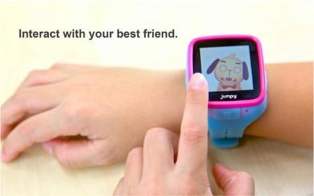 Jumpy es otro smartwatch creado para los más pequeños