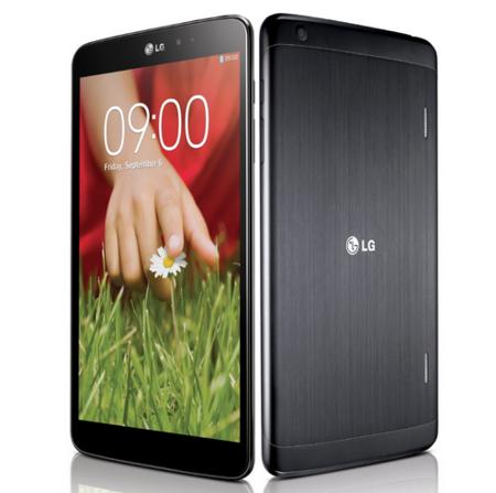 LG G Pad de 8,3 pulgadas llegará a 30 países antes de finales de año