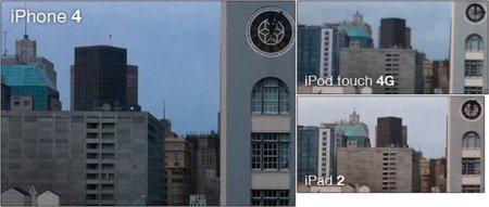 Las cámaras del iPad 2, el tablet de Apple ahora con FaceTime