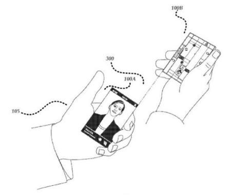 Microsoft estudia dividir el smartphone en dos en el futuro