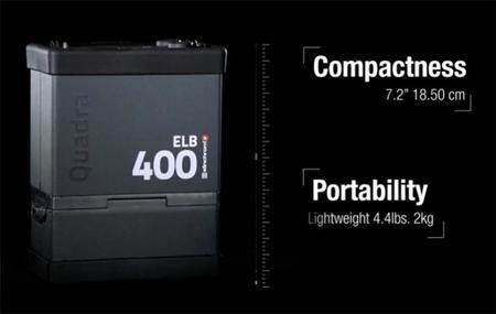 Elinchrom ELB 400, el generador portátil para flash que pretende revolucionar la fotografía en exteriores