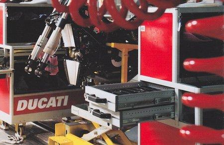 Visita Factoría y Museo Ducati segunda parte. La fábrica de sueños