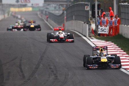 GP de Corea F1 2011: Sebastian Vettel gana autoritariamente y Red Bull consigue el título de constructores