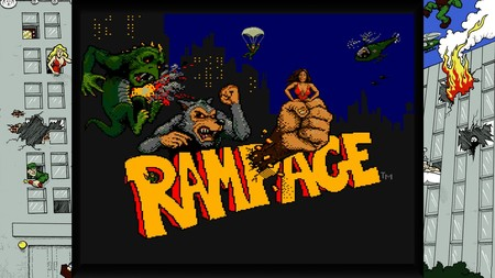 Retroanálisis de Rampage, la icónica destrucción de ciudades con monstruos gigantes que ideó Bally Midway
