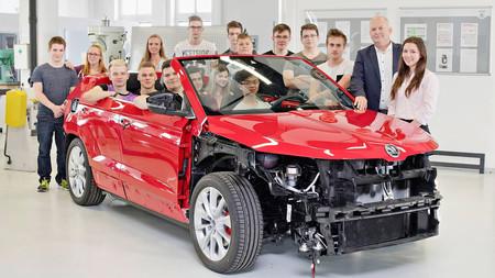 Škoda Karoq Cabrio Concept, teaser
