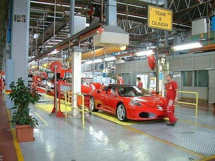 Un paseo por la fábrica de Ferrari