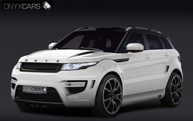 Onyx Concept Evoque Rouge Edition