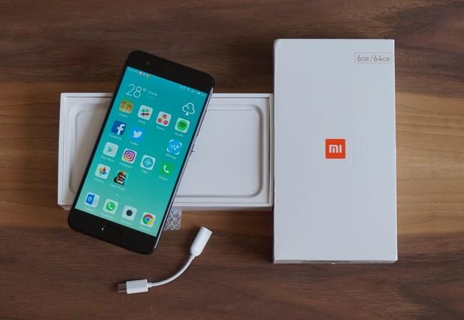 Adaptador de auriculares del Xiaomi Mi6