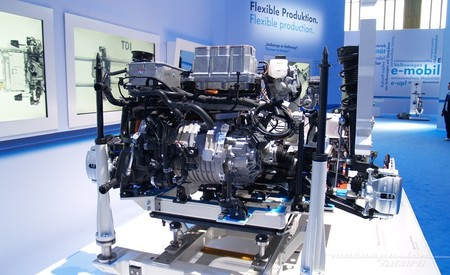 Cargador, unidad de control, motor y transmisión del Volkswagen e-Golf