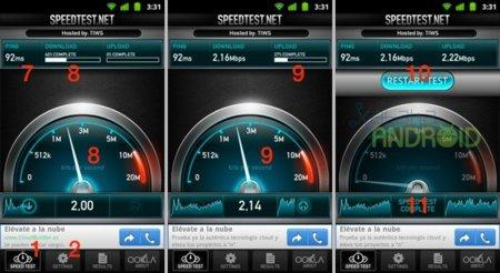 Speedtest.net para Android