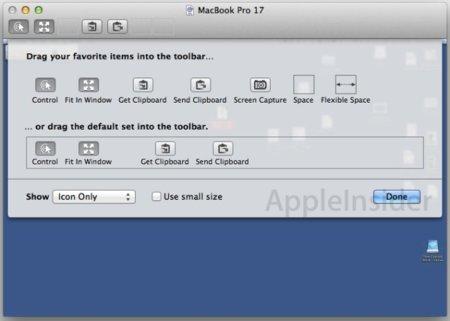 Mac OS X Lion mejorará la función de compartir pantalla