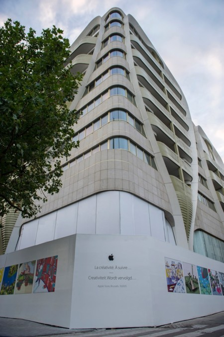 Apple Store Bruselas Edificio