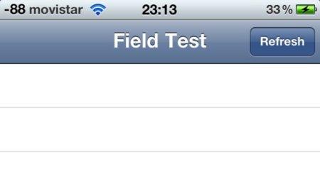 Comprueba los dB de cobertura de tu iPhone