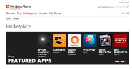 Microsoft obliga a todos los usuarios a actualizar a Mango para poder seguir usando Marketplace
