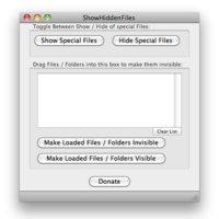 Crea y muestra carpetas ocultas con un click