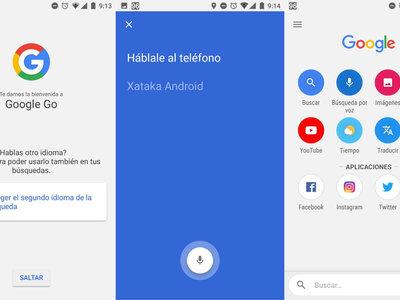 Probamos Google Go: una alternativa ultraligera muy convincente para buscar información en Google