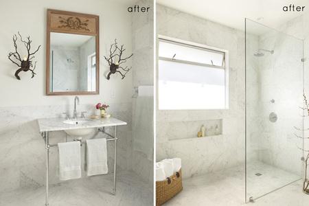 Antes y después - el baño de mis sueños