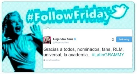 #FollowFriday de Poprosa: los Grammy Latino se vivieron en Instagram