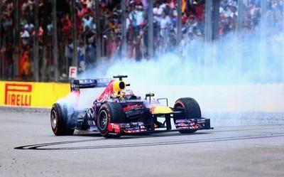 Mi Gran Premio de Brasil 2013: Sebastian Vettel no regala nada