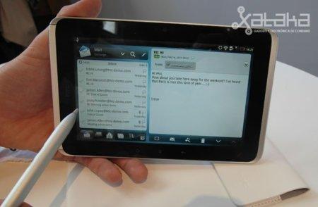 HTC Flyer. Lo probamos en el MWC 2011