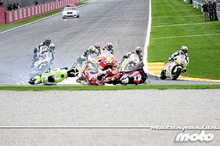 Caida multiple gp valencia