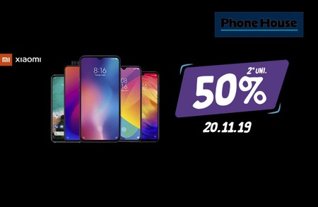 Si hoy compras un Xiaomi en Phone House, te llevas un 2º movil por la mitad: Redmi Note 7, Xiaomi Mi 9T Pro y Xiaomi Mi 9T más baratos