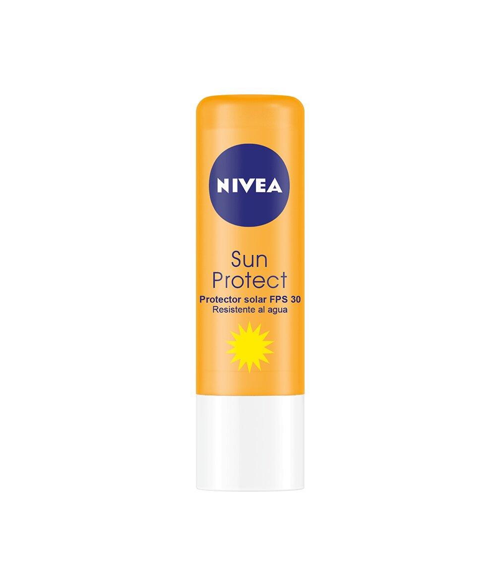 Nivea - Protector labial solar, factor de protección solar 30