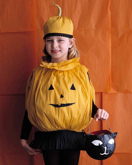 Disfraz Halloween Facil Barato Calabaza 1
