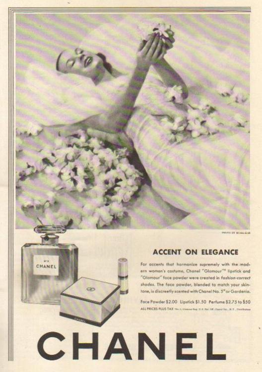 Chanel No. 5 - publicidad del 30 al 60