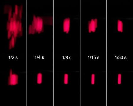 estabilización olypus E-M5 test