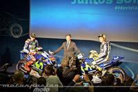 Aprendiendo a cambiar de opinión en la presentación del Movistar Yamaha MotoGP